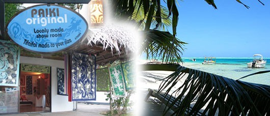 Décoration Polynésienne, Vente patchwork TIFAIFAI Paiki Original